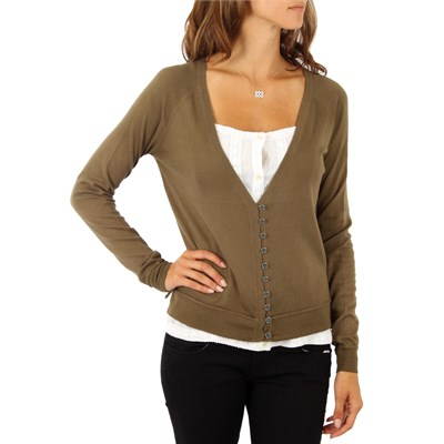 Hurley Fawn Cardigan Sweater - Women's