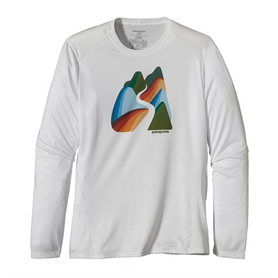 Patagonia Capilene 1 Silkweight Graphic Crew Shirt