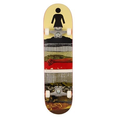 Girl Rick Mccrank Cross Section Skateboard Complete