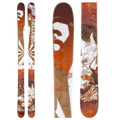 Salomon Shogun Skis 2012