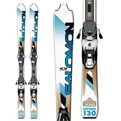 Salomon Enduro 800 Jr Skis + L7 Bindings - Youth 2012