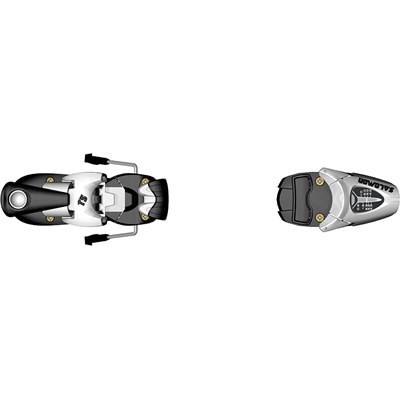 Salomon T5 Ski Bindings (85mm Brakes) - Youth 2012