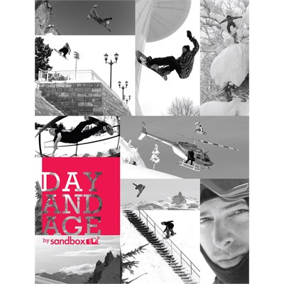 Sandbox Day and Age Snowboard DVD & Blu-ray