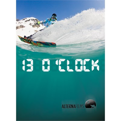 Alterna Films 13 O'Clock Snowboard DVD & Blu-ray