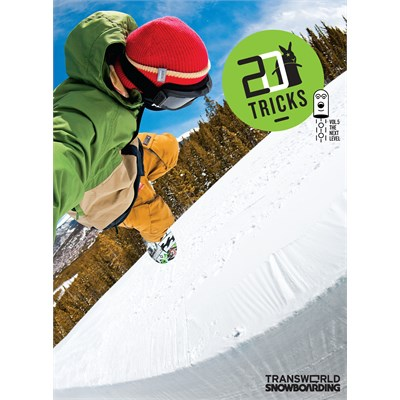 Transworld 20 Tricks Vol 5 Instructional Snowboard DVD