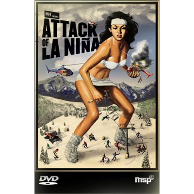 Matchstick Productions Attack of La Nina Ski DVD