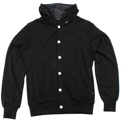 Makia Button Up Hoodie