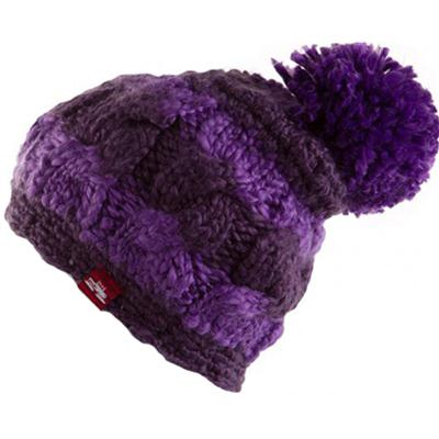 Spacecraft Snuffle Pom Stripe Beanie - Women's