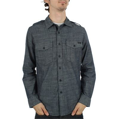 RVCA Burnout Button Down Shirt