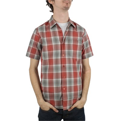 RVCA El Tornado Short Sleeve Button Down Shirt