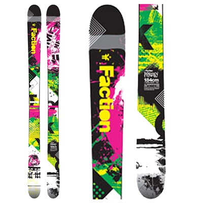 Faction Prodigy STP Skis 2012