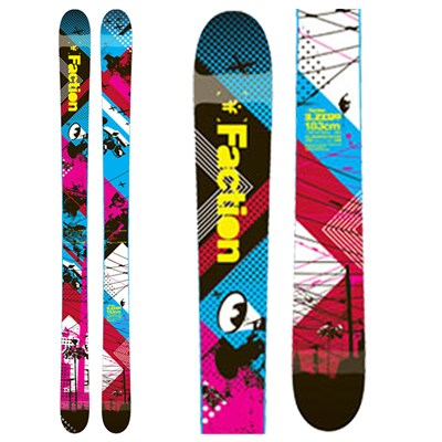 Faction Zero Rocker Skis 2012