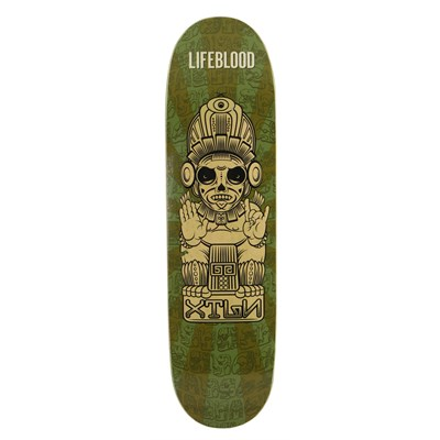 Lifeblood Olmec Skateboard Deck