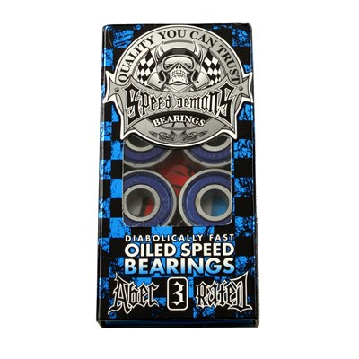 Speed Demons Abec 3 Blue Bearings