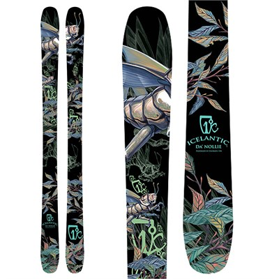 Icelantic Da'Nollie Skis 2012