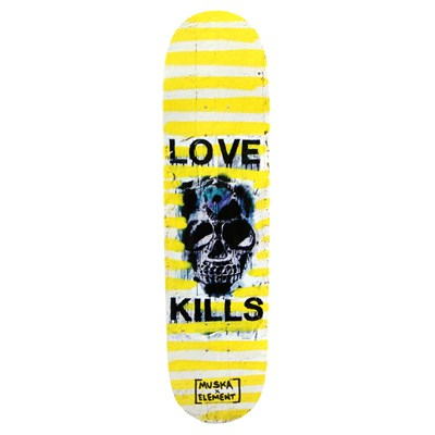 Element Muska Love Kills 4 Skateboard Deck
