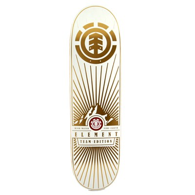 Element Rocky Mountain White Skateboard