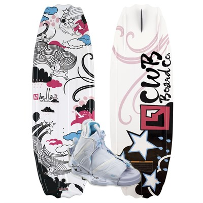 CWB Bella Wakeboard + Bliss Bindings - Youth - Girl's 2012