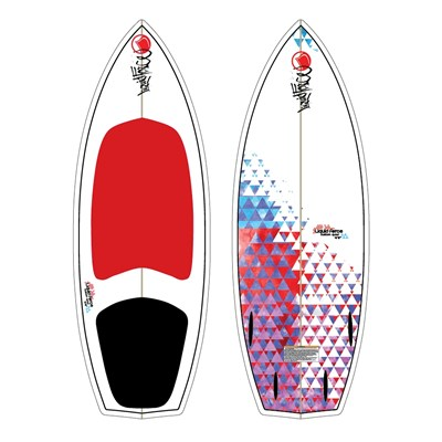 Liquid Force Custom Quad Wakesurf Board 2012
