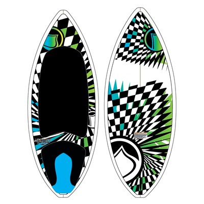 Liquid Force TC Custom Skim Wakesurf Board 2012