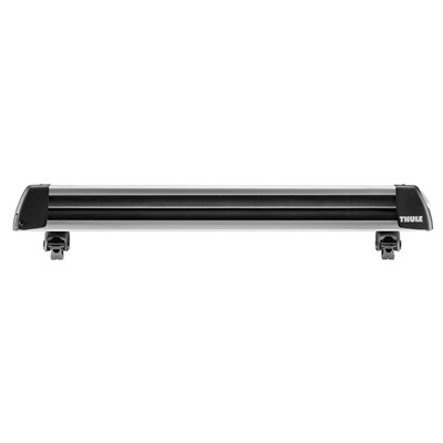 Thule Universal Flat Top 6 Snow Rack w/ Locks