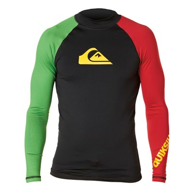 Quiksilver All Time Long Sleeve Surf Shirt 2012