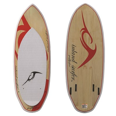Inland Surfer Red Rocket Pro Quad Wakesurf Board 2013