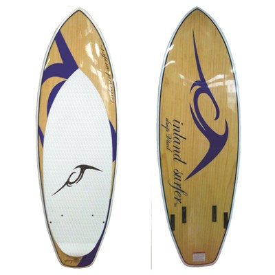 Inland Surfer Blue Lake V2 Pro Quad Wakesurf  Board 2012