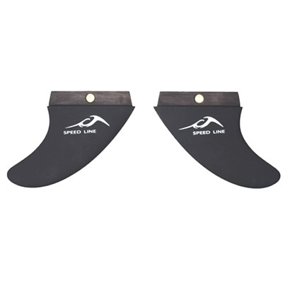 Inland Surfer 3 Degree Wakesurf Fins 2012