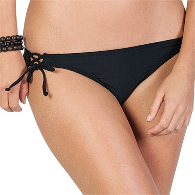 Volcom Rear View Tie Side Full Bikini Bottom - Women's