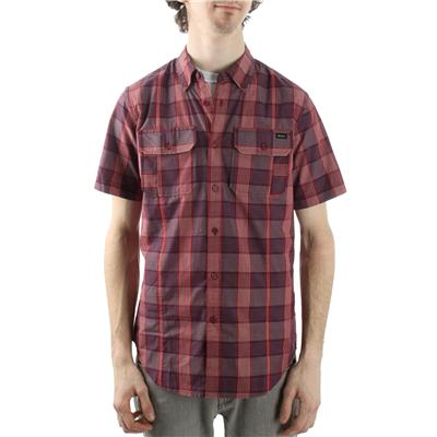 RVCA Bleeker Noodle Short Sleeve Button Down Shirt