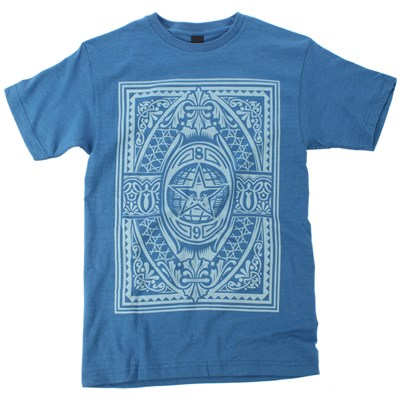 Obey Clothing Old World Order Basic Heather T Shirt