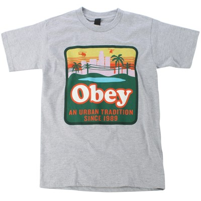 Obey Clothing Urban Tradition T Shirt