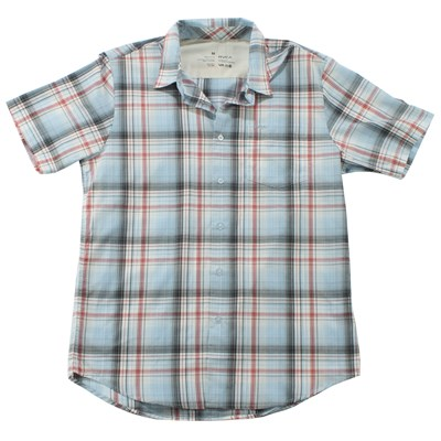 RVCA Ducky Short Sleeve Button Down Shirt