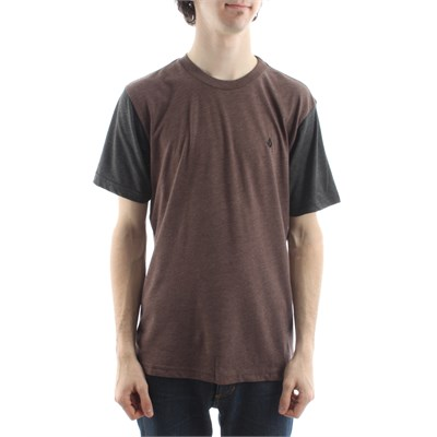 Volcom Do Me A Solid Heather T Shirt