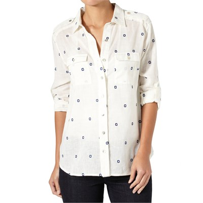 Quiksilver Native Square Button Down Shirt - Women's