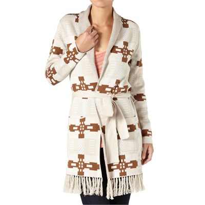 Quiksilver Native Blanket Wrap Sweater - Women's