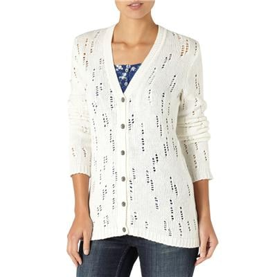 Quiksilver Dunes Open Knit Cardigan Sweater - Women's