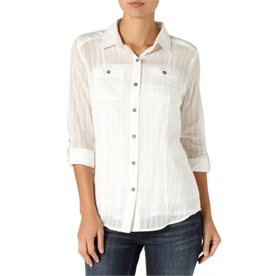 Quiksilver White Water Button Down Shirt - Women's