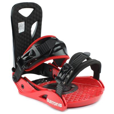 Burton Progression Lowstack Snowboard Bindings - Demo 2012