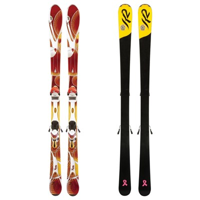 K2 SuperBurnin Skis + ERS 11.0 Demo Bindings - Women's 2012