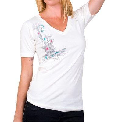 Arbor Journey V Neck T Shirt - Women's