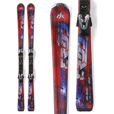 Nordica Hot Rod Blaze Skis + XCT Bindings 2012