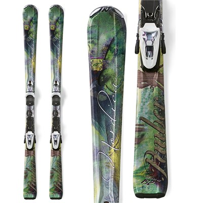 Nordica Amber Skis + N Sport XCT Bindings - Women's 2012