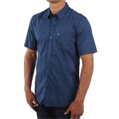 Volcom Checklist Short Sleeve Button Down Shirt