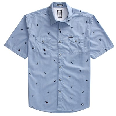 Billabong Matey Short Sleeve Button Down Shirt