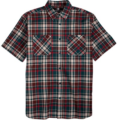 Fourstar Dye Short Sleeve Button Down Shirt