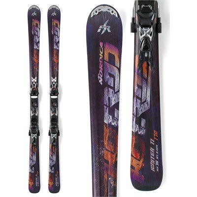 Nordica Hot Rod Igniter Ti Skis + XBI CT Bindings 2012