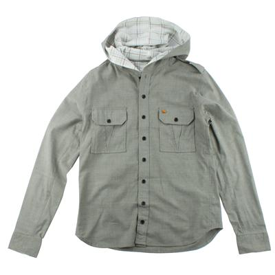Arbor Boardwalk Hooded Button Down Shirt