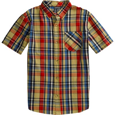 Burton Wrench Woven Short Sleeve Button Down Shirt